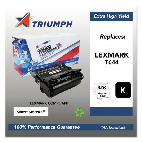 Triumph Remanufactured Lexmark 64415XA Extra High-Yield Toner Cartridge