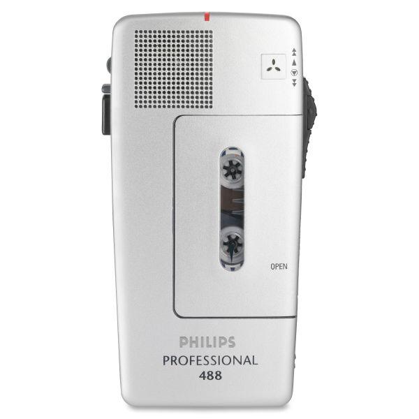 Philips Speech PM488 Pocket Memo Recorder