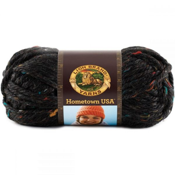 Lion Brand Hometown USA Yarn - Cambridge Tweed
