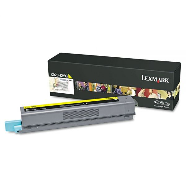 Lexmark X925H2YG Yellow High Yield Toner Cartridge