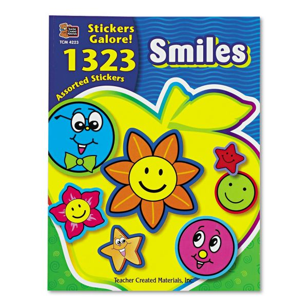 Teacher Created Resources Smiles Sticker Book