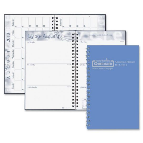 House of Doolittle Wirebound Leatherette Weekly Planner