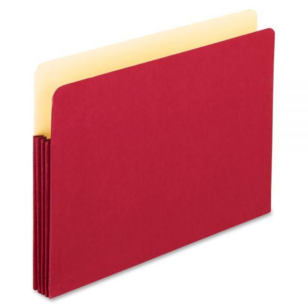 Pendaflex Red Colored File Pocket