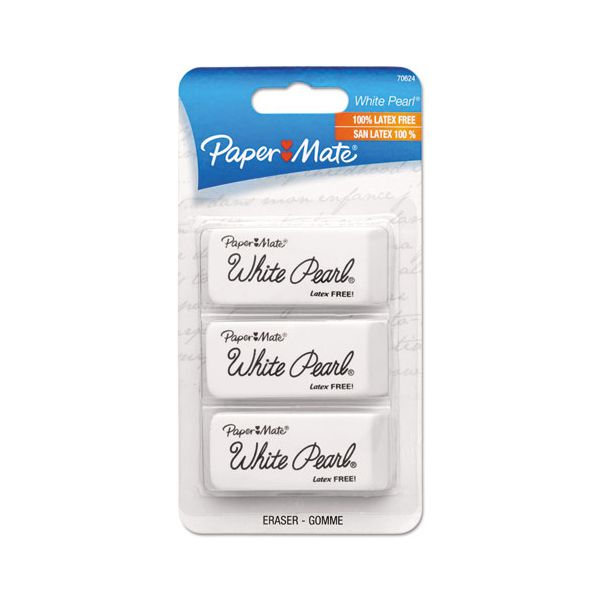 Paper Mate Latex-free White Pearl Eraser