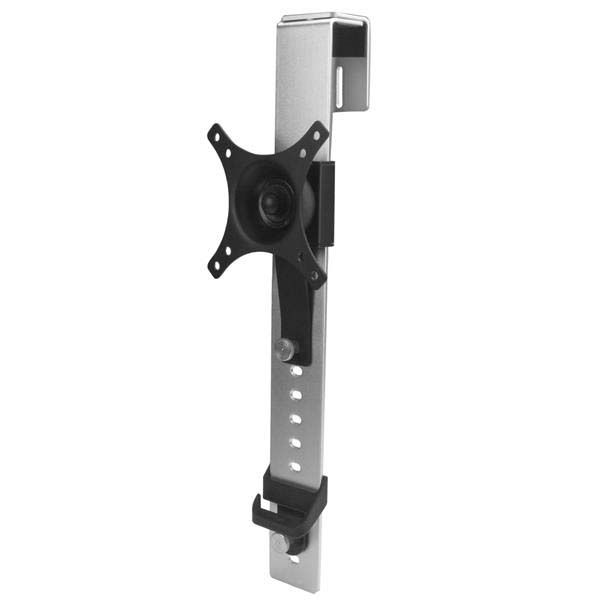 "StarTech.com Single-Monitor Mount - Cubicle Hanger with Height Adjustment - Supports a single monitor up to 30"" (20 lb. / 9 kg)"