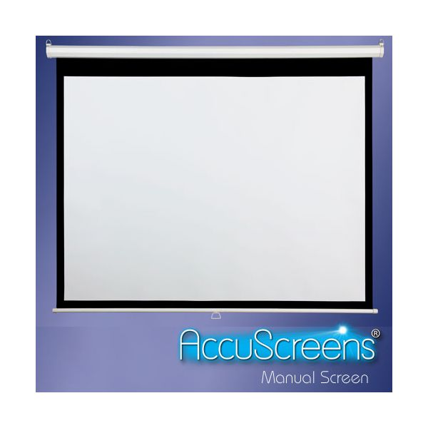 Draper Accuscreens Manual Projection Screen