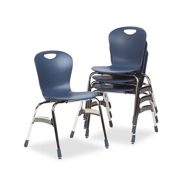 Virco Ergonomic Plastic Stacking Chairs