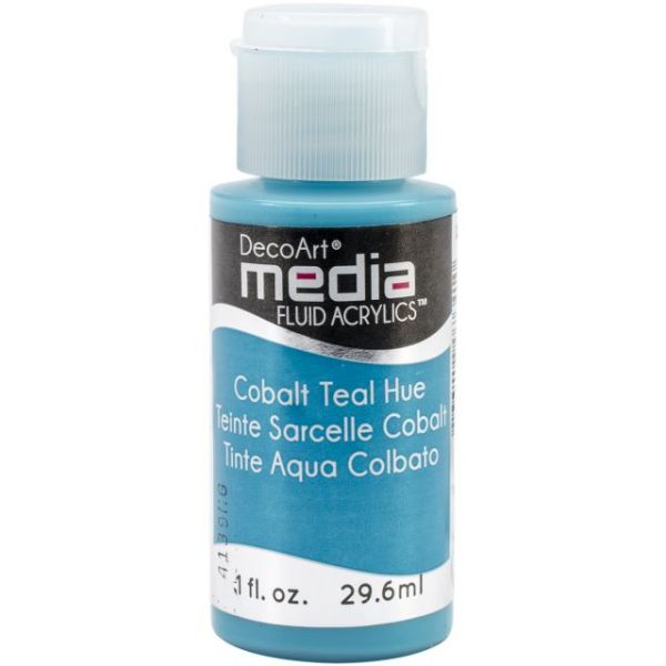 Deco Art Cobalt Teal Media Fluid Acrylic