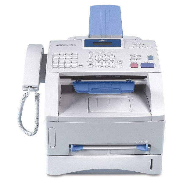 Brother intelliFAX-4750e Business-Class Laser Fax Machine, Copy/Fax/Print
