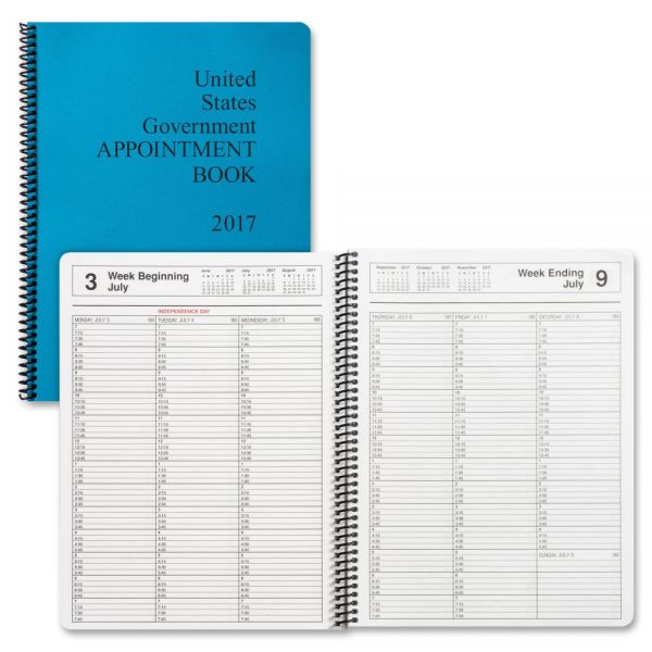 Unicor Fed Weekly Appointment Book
