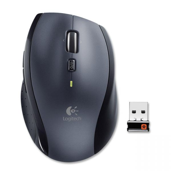 Logitech M705 Marathon Wireless Laser Mouse, Black