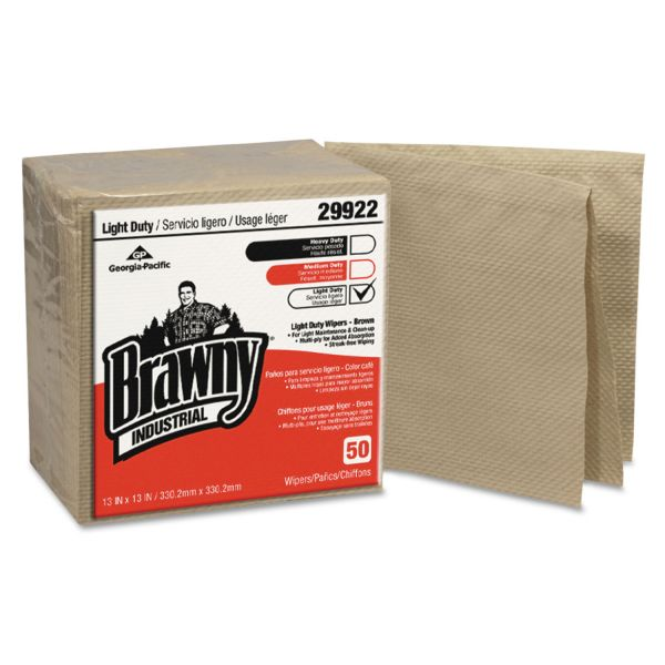 Brawny Industrial Quarterfold Paper Wipers