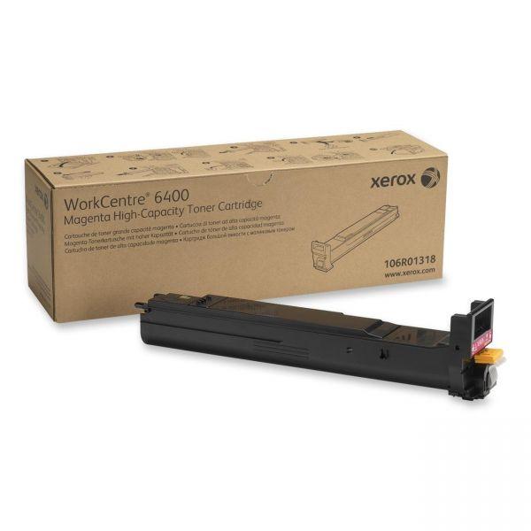 Xerox 106R01318 Magenta High Yield Toner Cartridge