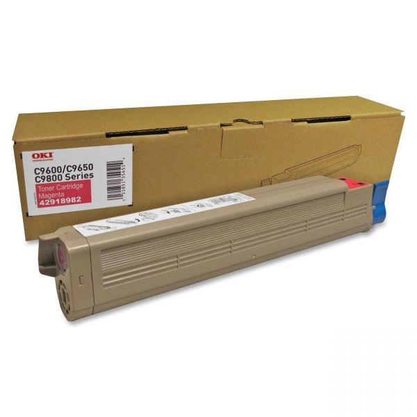 Oki 42918982 Magenta Toner Cartridge