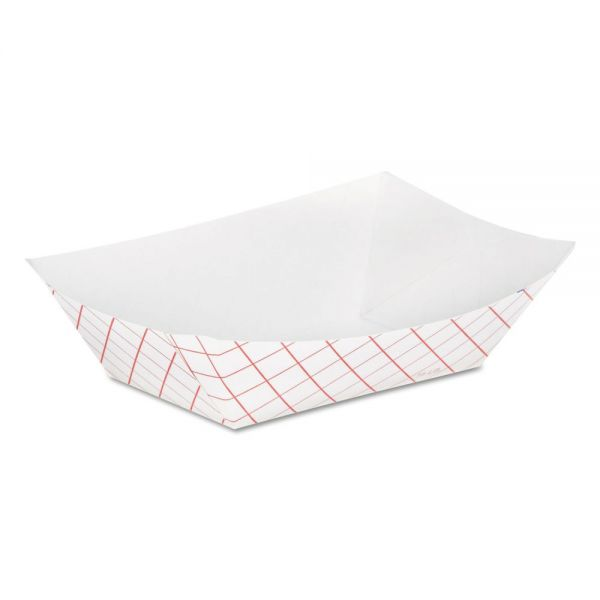 Dixie Kant Leek 1/2 lb Paper Food Trays