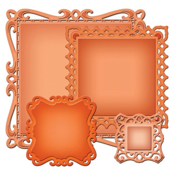 Spellbinders Nestabilities Decorative Elements Dies