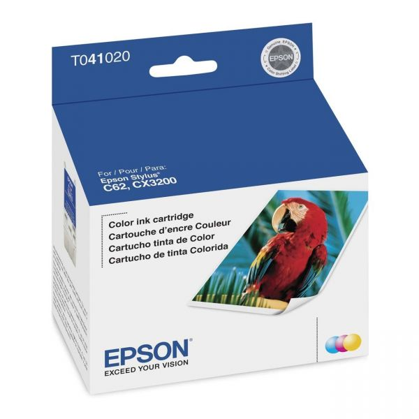 Epson T041 Tri-Color Ink Cartridge