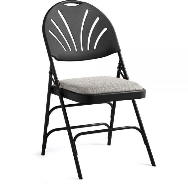 Samsonite Fanback Steel & Fabric Folding Chair (Case/4)