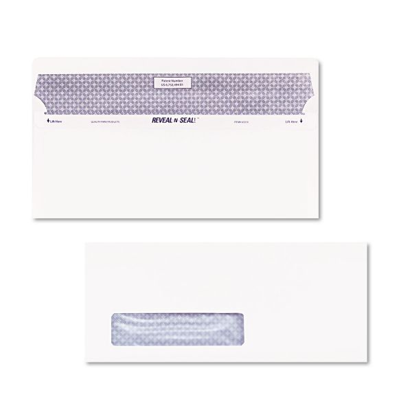 Quality Park Reveal-n-Seal Window Envelopes