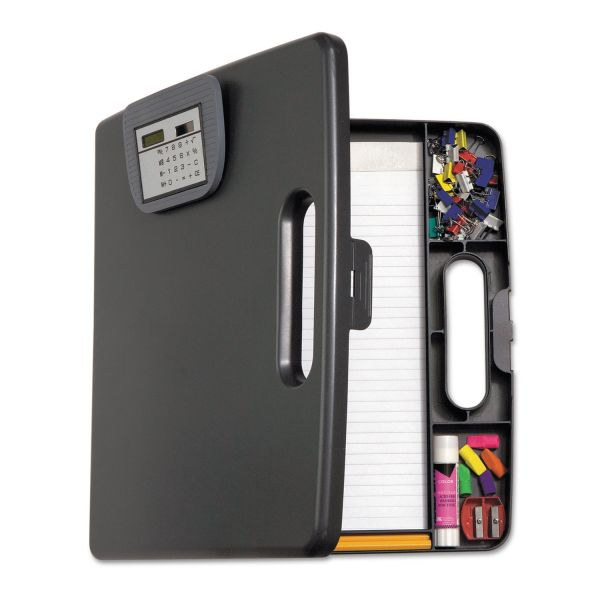 Officemate Portable Storage Clipboard w/Calculator