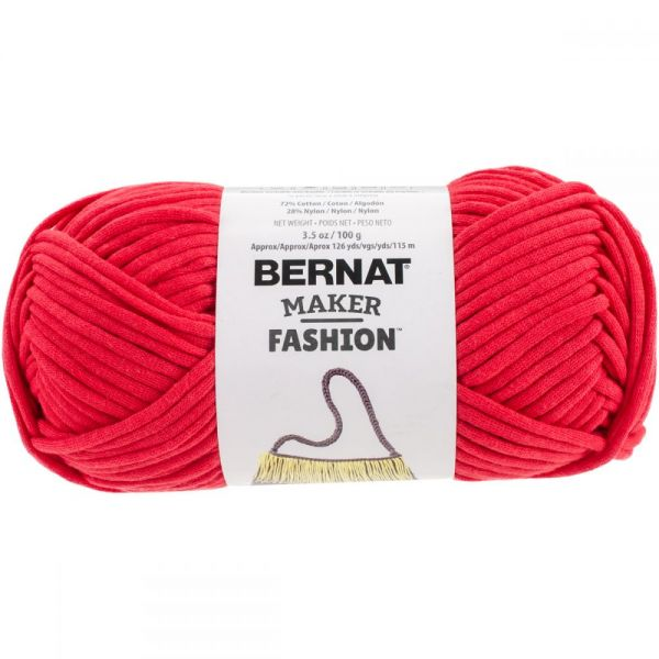 Bernat Maker Fashion Yarn - Red
