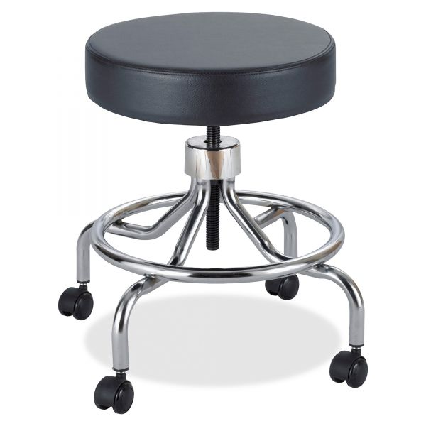 Safco Low Base Screw Lift Lab Stool