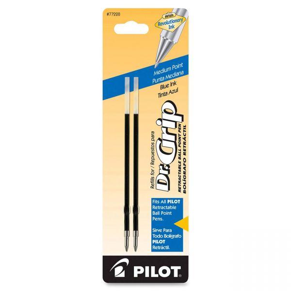 Pilot Dr. Grip & BPS Retract Ballpoint Pen Refills
