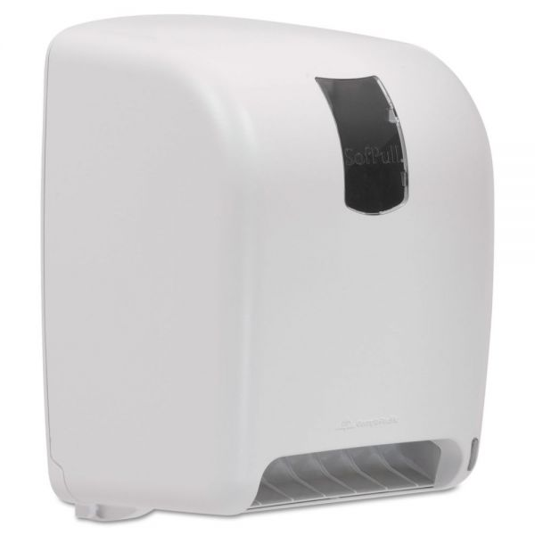 Georgia Pacific SofPull High-Capacity Automated Paper Towel Dispenser