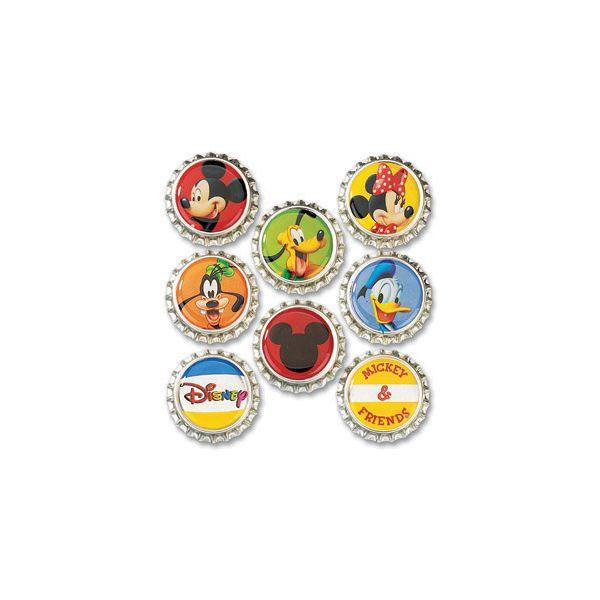 Disney Bottle Caps 8/Pkg