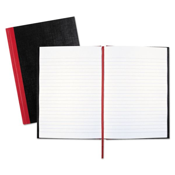 John Dickinson Black n' Red Recycled Notebook