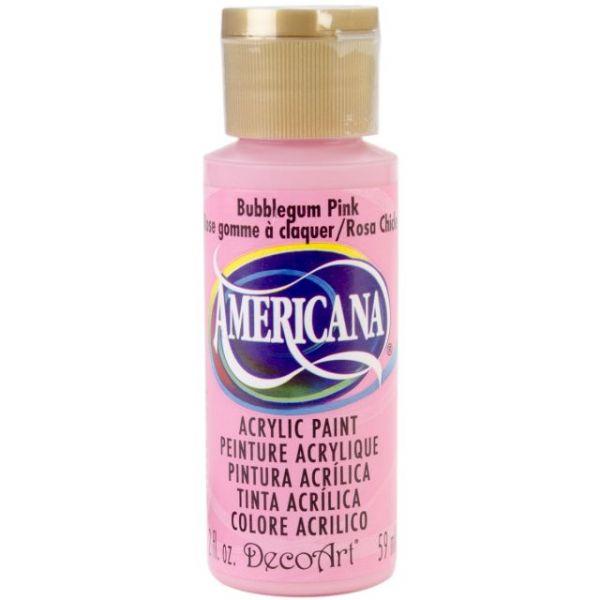 Deco Art Bubblegum Pink Americana Acrylic Paint