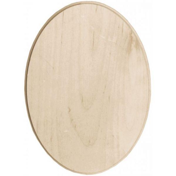 Baltic Birch Oval Plaque