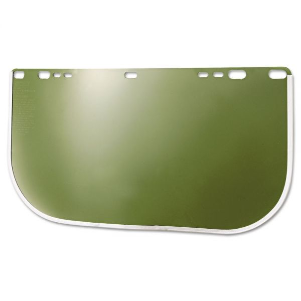 "Jackson Safety* HUNTSMAN 8154M F30 Acetate Face Shield, Clear, 8"" x 15.5"" x .040"""