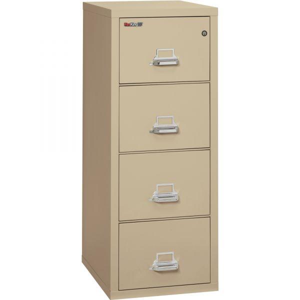 FireKing Insulated Deep Vertical File Cabinet