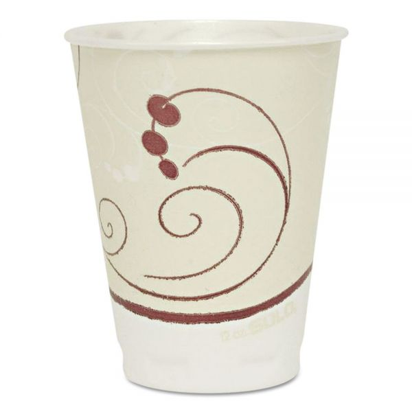 SOLO Dual Temperature 12 oz Foam Coffee Cups
