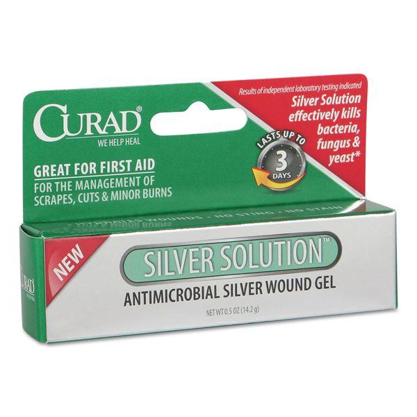 Medline Curad Silver Solution Antimicrobial Gel