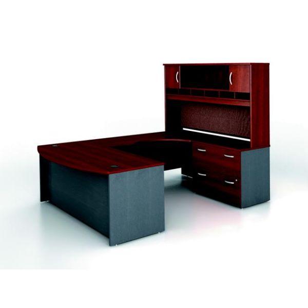 bbf Series C Executive Configuration - Hansen Cherry finish by Bush Furniture