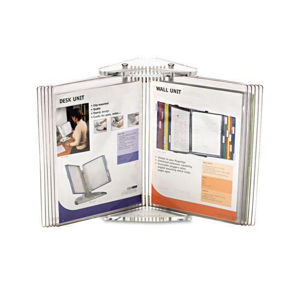 Tarifold, Inc. Crystal Desk Reference System, 10 Pockets