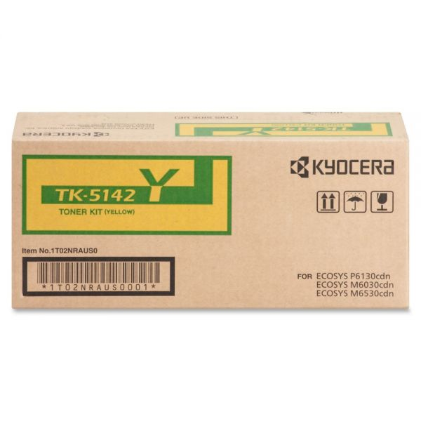 Kyocera TK-5142Y Original Toner Cartridge