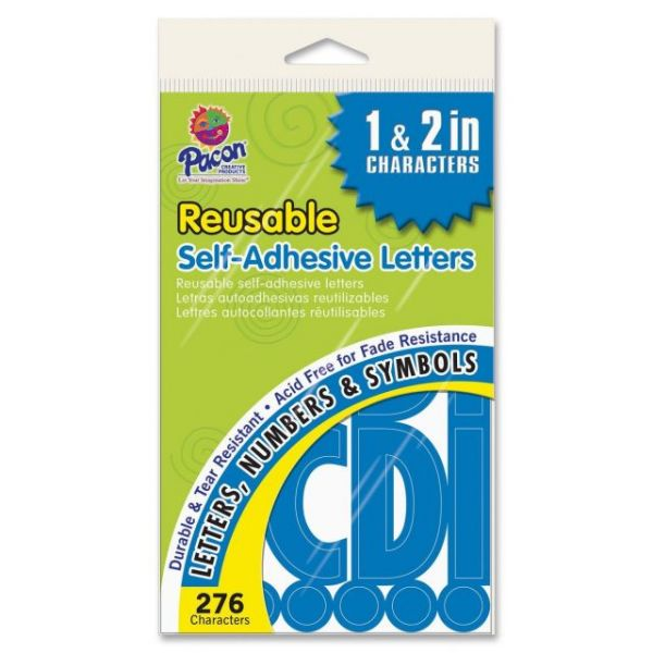 Pacon Self-adhesive Letters