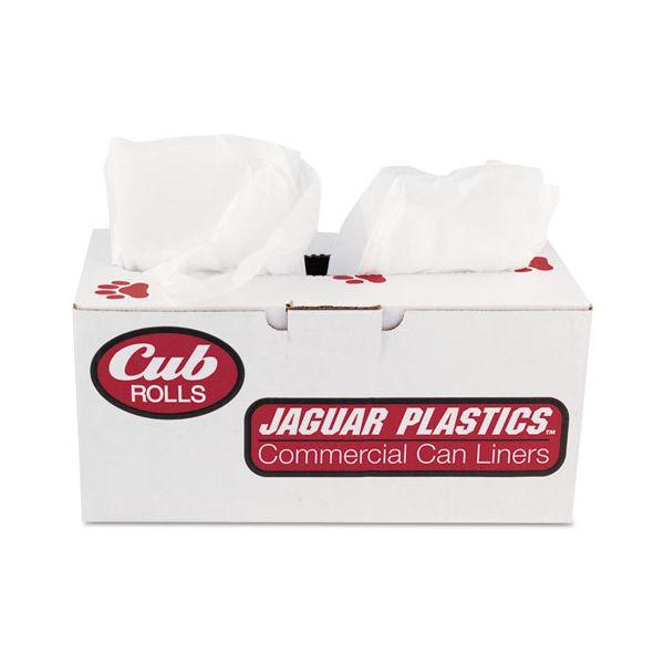 Jaguar Plastics Cub Commercial 33 Gallon Trash Bags