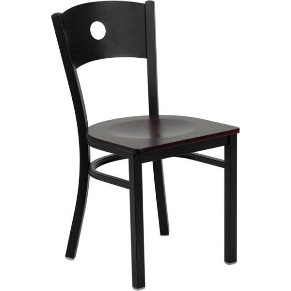 Flash Furniture Circle Back Metal Restaurant Chair