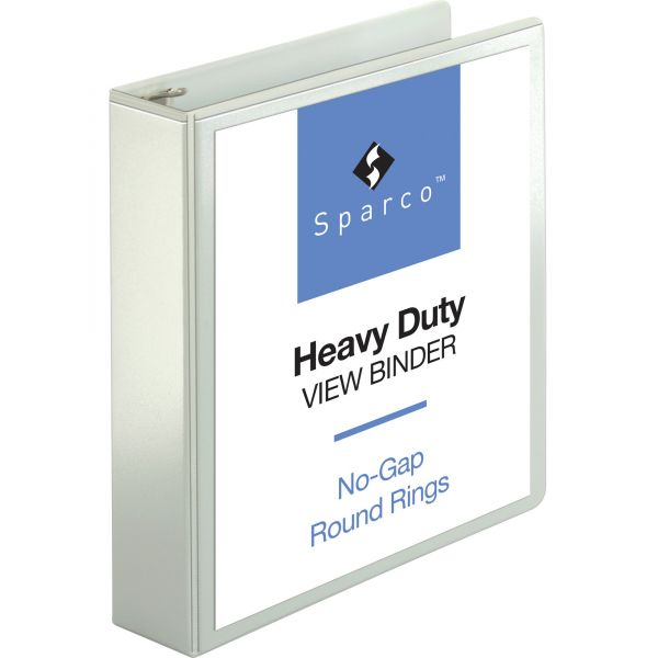 "Sparco Premium 2"" 3-Ring View Binder"