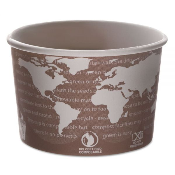 Eco-Products World Art Takeout Soup Containers