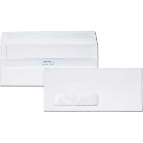 Redi-Seal Single Window Envelopes