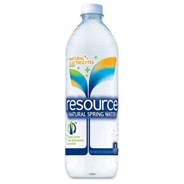 Resource Natural Spring Bottled Water