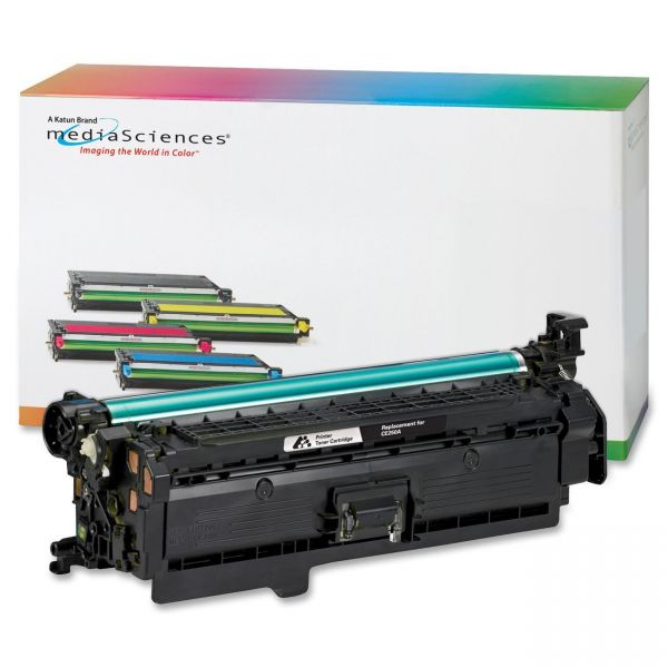 Media Sciences Remanufactured HP 504A Black Toner Cartridge