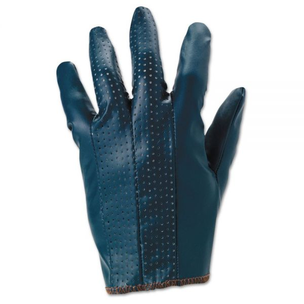 AnsellPro Hynit Multipurpose Gloves, Size 8, Blue, 12 Pairs