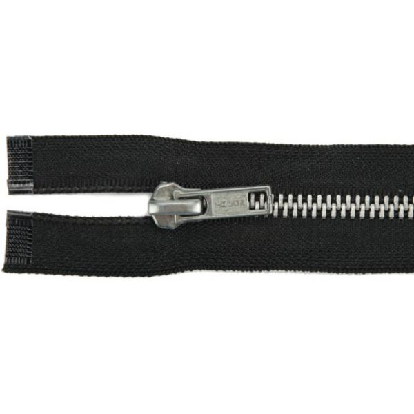 Heavyweight Aluminum Separating Metal Zipper