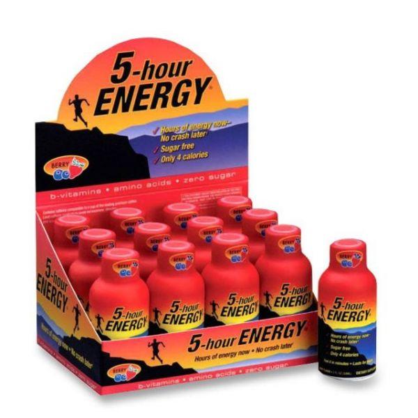 5-Hour Energy Original Energy Drinks